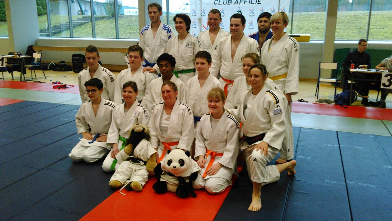 groupe jujitsu et ne waza Grosblie