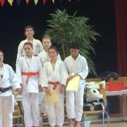 Pierre 4ème, Manon 3ème et Luka 2ème