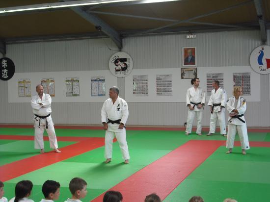 Fête de fin de saison sportive le 20/06/2009 Judo Club Sarreguemines