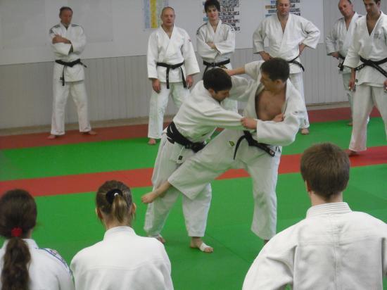 5ème stage P.Roux Sarreguemines 2010