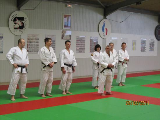 6ème stage P.Roux Sarreguemines 2011
