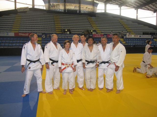 Stage Judo de Montpellier juillet 2012