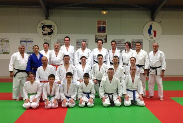 entrainement avec Judo club de Sarralbe 22 novembre 2013