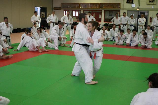 Ko uchi gari par Jane Bridge