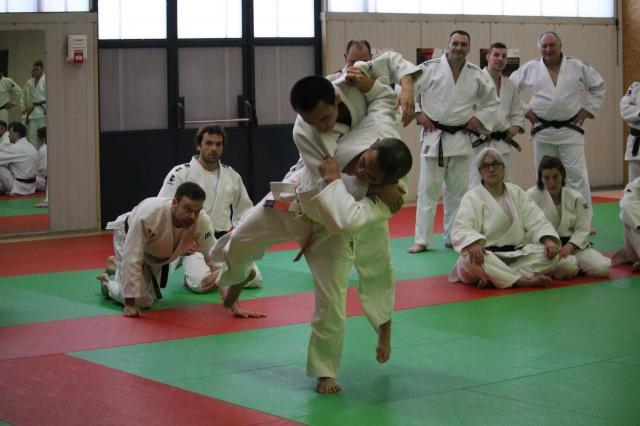 uchi mata hane goshi par Hiroshi Katanoshi