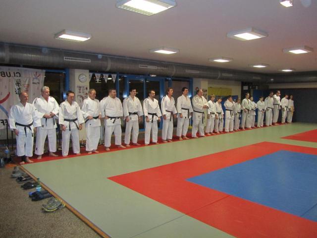 Entrainement de masse à Sarre-Union 20 janvier 2012