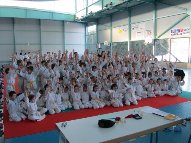 Mosellanes de judo à Sarralbe 04 février 2012
