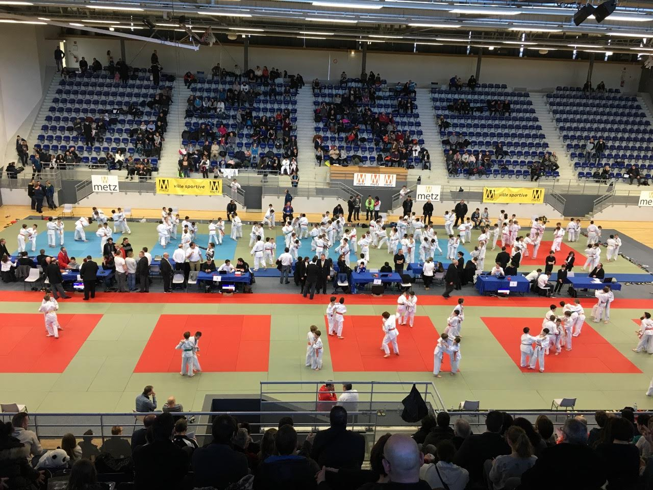 tournoi benjamins à Metz