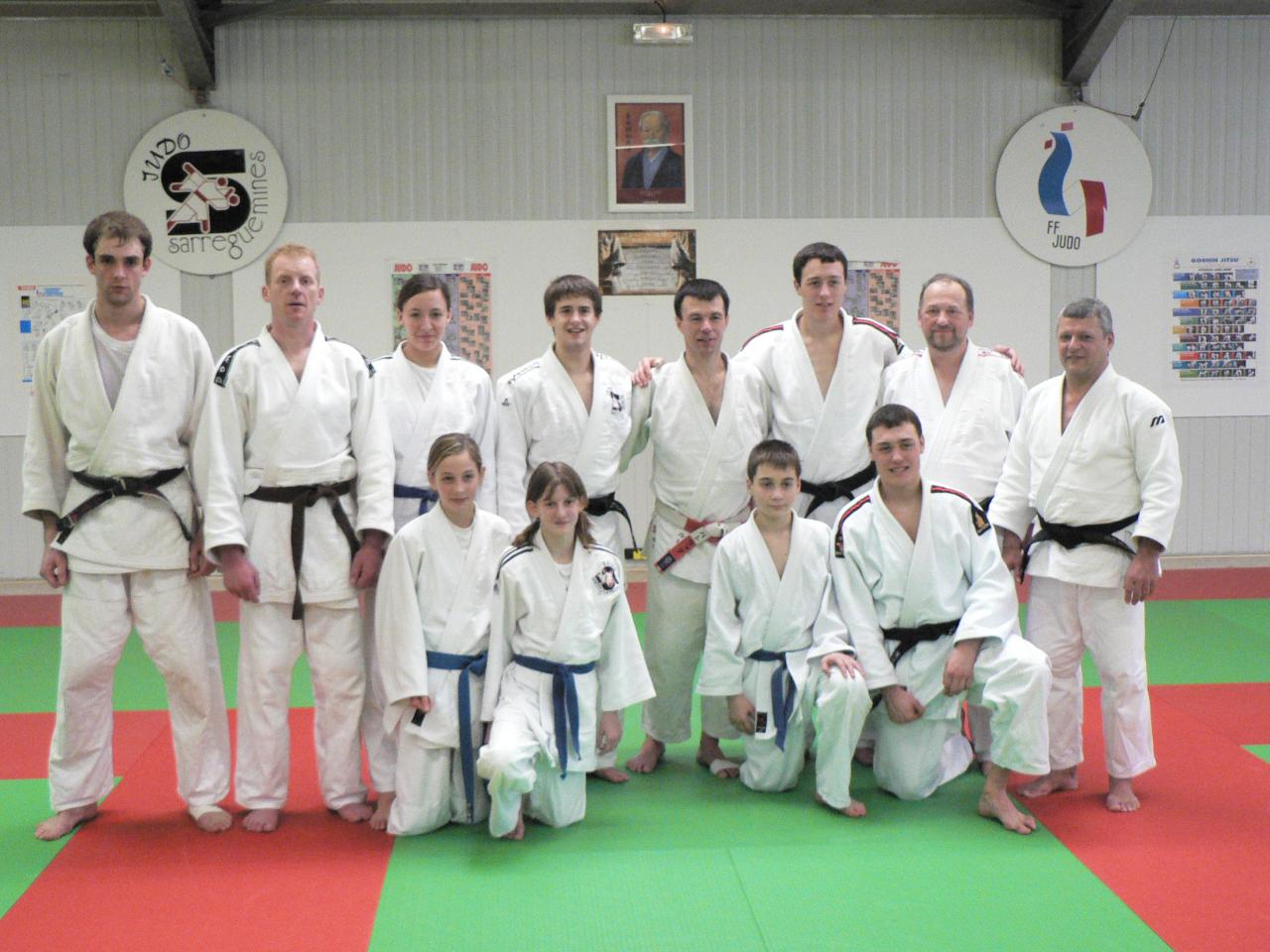 1er stage P.Roux à Sarreguemines 2006