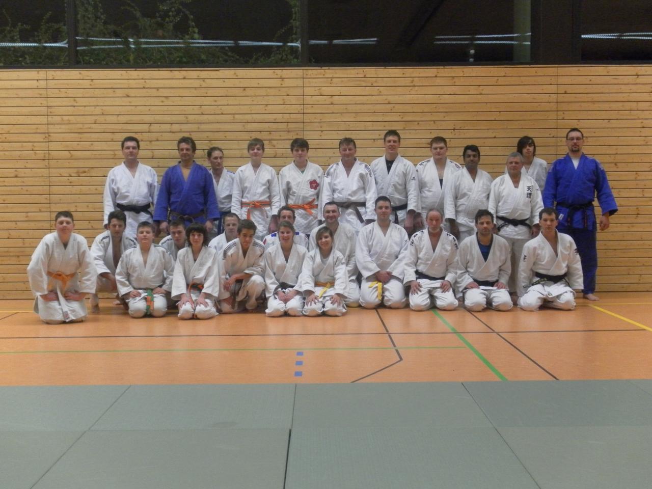 Entrainement à Gersheim le 11 janvier 2013